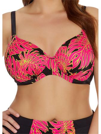 Elomi Rhapsody Black Full Cup Bikini Top