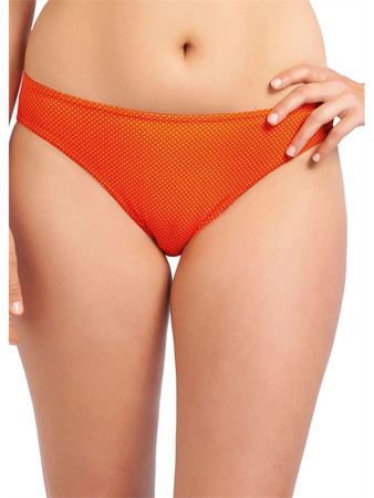 Freya Cherish Orange Classic Brief Plain
