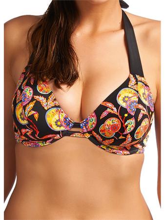 Freya Samara Black Halter Bikini