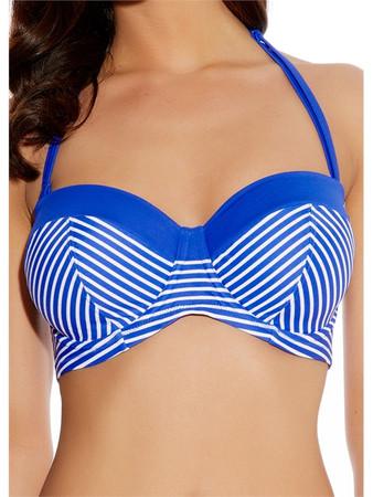 Freya Tootsie Blue Bandeau Bikini