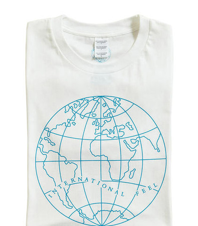 International Feel Graphic Print T-shirt