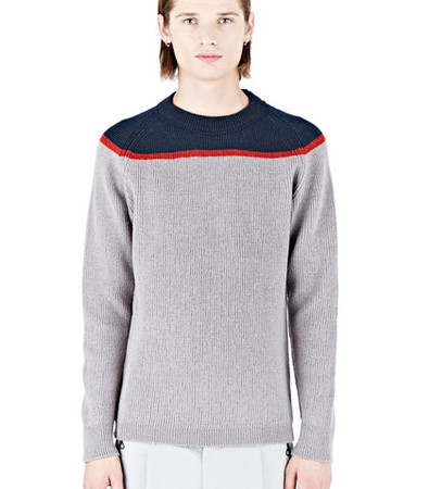 Kolor Crew Neck Knitted Sweater