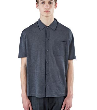 Patch Pocket Jersey Polo Shirt