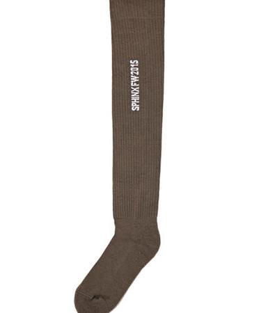 Rick Owens Upknee Socks