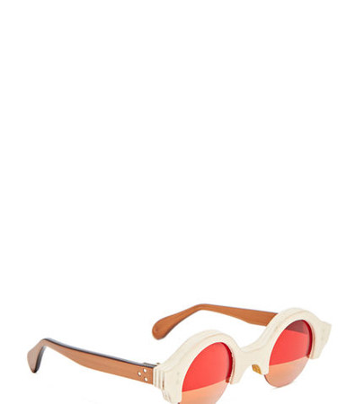 ROUND Half Sunglasses