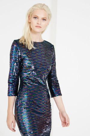 Lavish Alice Off White Tie Front Asymmetric Wrap Midi Skirt