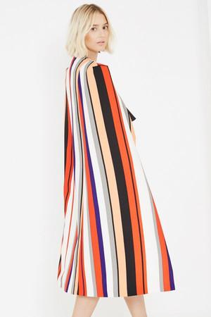 Lavish Alice Olive Green Tie Wrap Front Rose Gold Ring Detail Midi Dress
