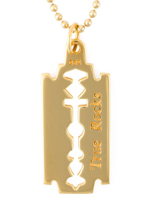 TRUE ROCKS - Razor Blade Necklace