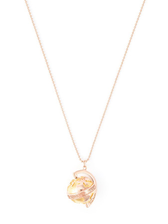 TRUE ROCKS - Rose Gold & Gold Globe Pendant