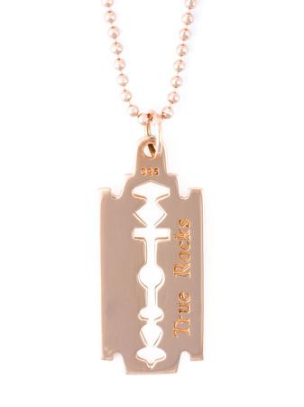 TRUE ROCKS - Small Razor Blade Necklace
