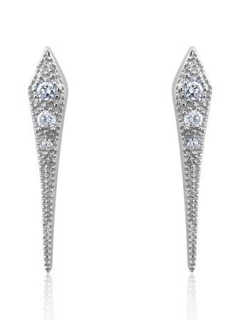V JEWELLERY - Mythos Dagger Earrings