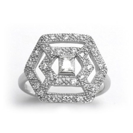 V JEWELLERY - Romance Luxe Ring