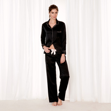 Claudia Shirt and Trouser Black