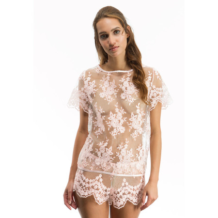 Julianna Top and Short Pale pink