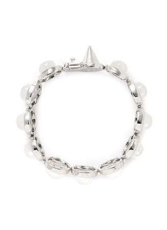 Agate dome bracelet
