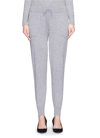 'Arleena L' cashmere knit sweatpants