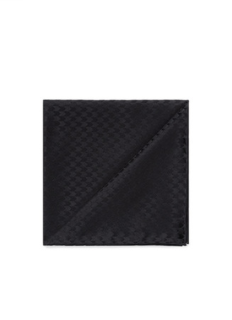 Arrowhead silk pocket square