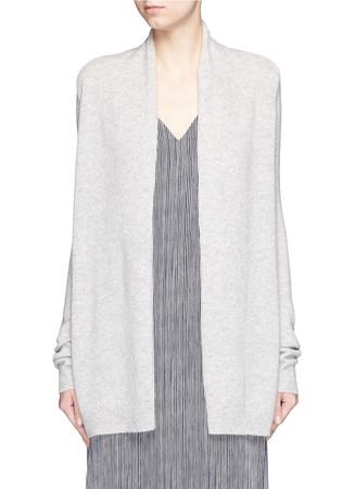 'Ashtry J' shawl collar cashmere cardigan