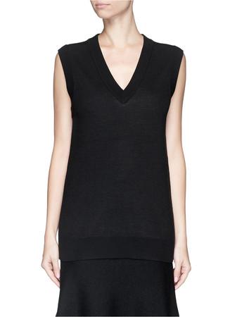 'Audria' wool sweater vest