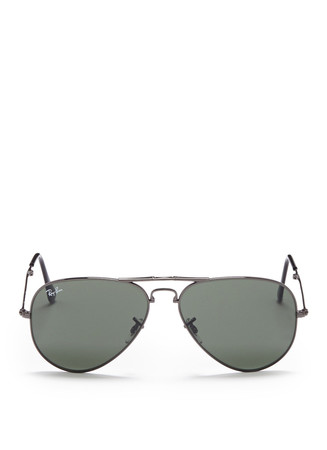 'Aviator Folding' wire sunglasses