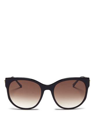'Axxxexxxy' slim acetate sunglasses