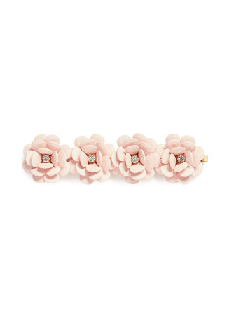 Beaded rose bracelet
