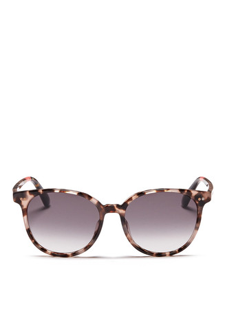 'Bellini' tortoiseshell effect acetate sunglasses
