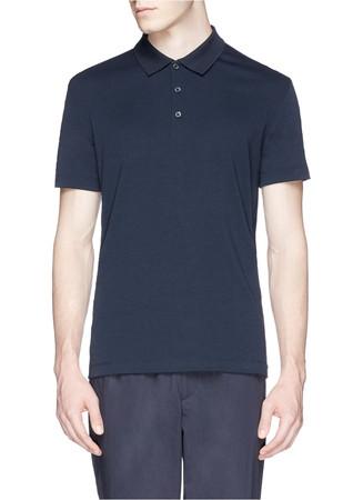 'Boyd' stretch jersey polo shirt
