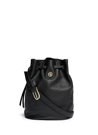 'Brodie' leather bucket bag