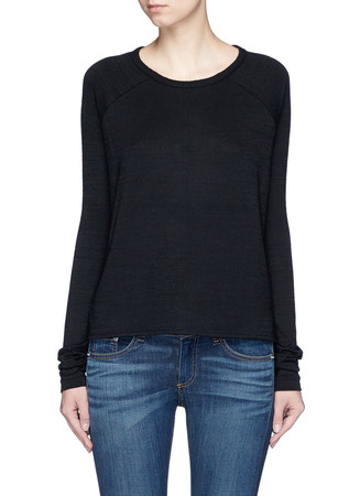 'Camden' raglan sleeve T-shirt