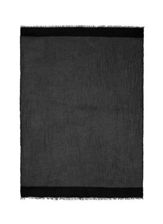 'Celine' metallic silk-cashmere scarf