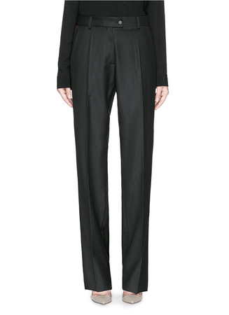 'Chilton' colourblock tuxedo stripe pants