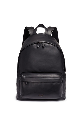 'Ci' stud leather backpack