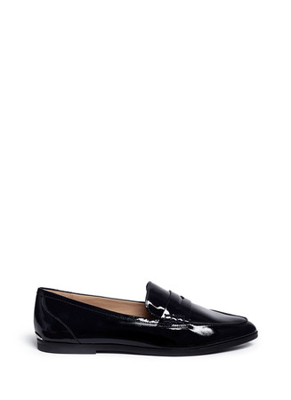 'Connor' patent leather loafers