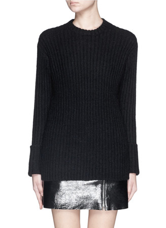 'Diantha' Mohair-yak blend sweater