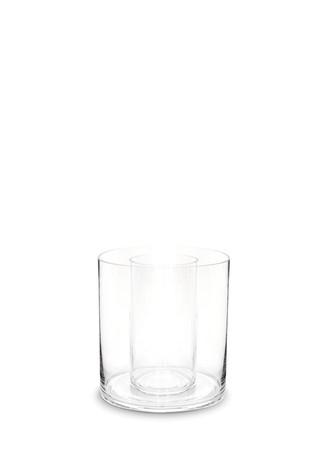 Double cylinder vase