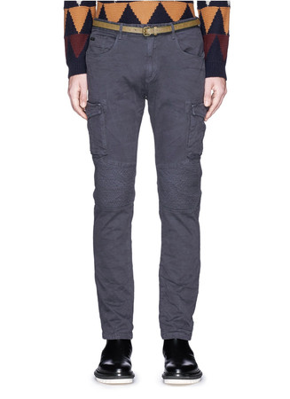 'Drake' slim fit cargo pants