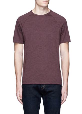 'Dustyn' raglan sleeve cotton blend T-shirt