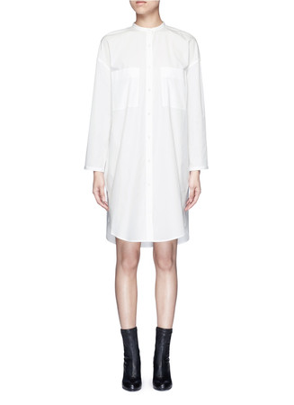 'Esloane' oversized cotton poplin shirt dress