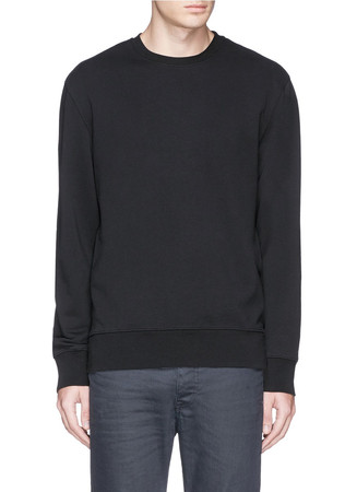 'Flinton' side zip sweatshirt