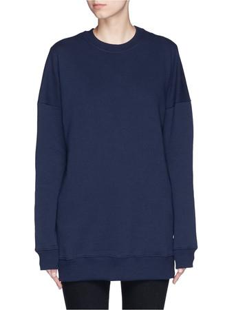 'Foil woodgrain' Keely sweatshirt