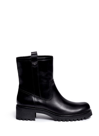'Foster' veggie leather boots