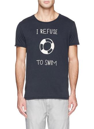 Freehand shipmate print T-shirt