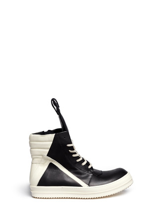 'Geobasket Classic' leather high top sneakers