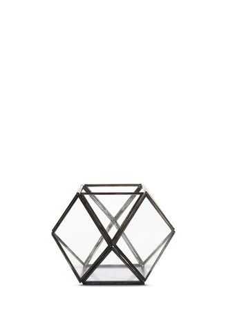 Geometric ball votive candleholder