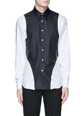 Harness cotton Oxford shirt