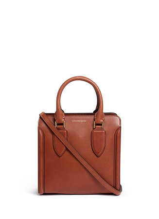 'Heroine' small leather tote