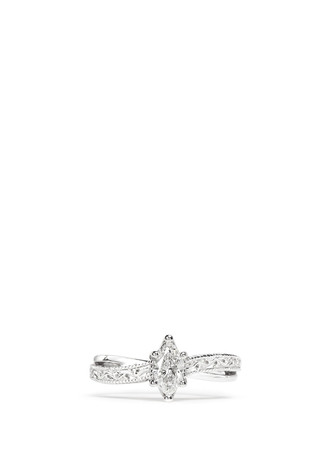 Ice - Solitaire diamond ring