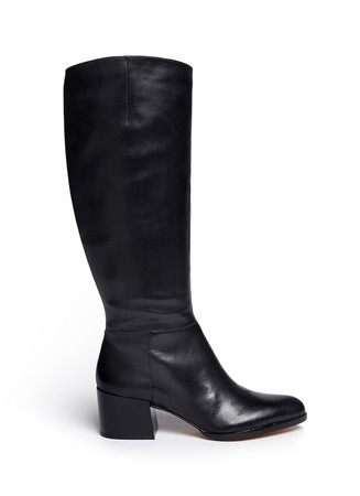 'Joelle' knee high leather boots