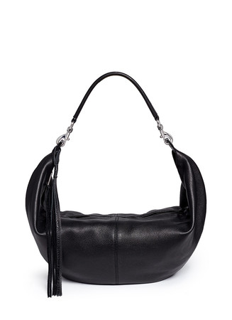 'Julian' half moon hobo crossbody bag